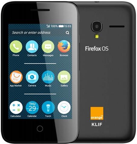Firefox OS phone Orange Klif unveiled at MWC 2015