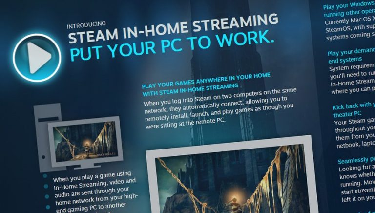 Steam Link announced by Valve for in-Home game streaming