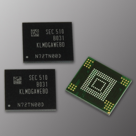 Samsung introduces 128GB 3-Bit eMMC 5.0 Chip to support its mid-range smartphone