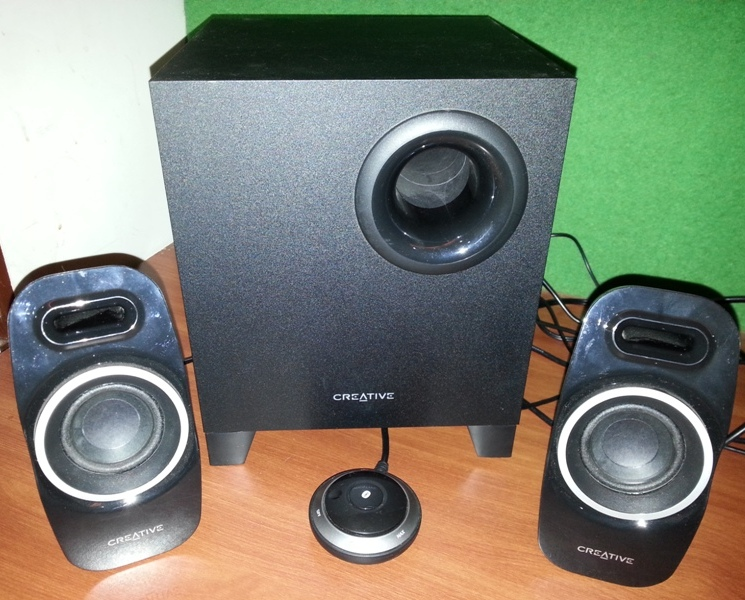 Creative T3250 2.1 Speakers Review